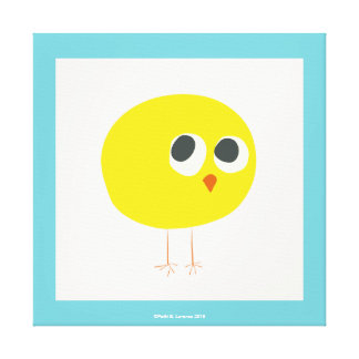 Baby Chick Canvas Print