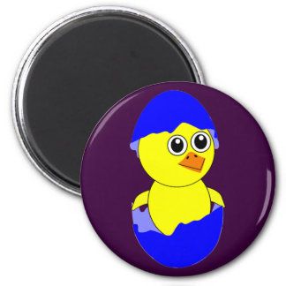 Baby Chick Maternity Baby Boy Blue 2 Inch Round Magnet