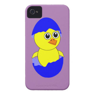 Baby Chick Maternity Baby Boy Blue Case-Mate iPhone 4 Case