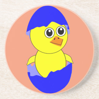 Baby Chick Maternity Baby Boy Blue Coaster