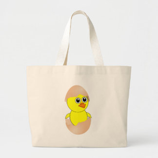 Baby Chick Maternity Customize Large Tote Bag