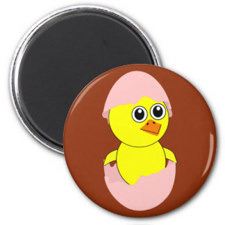 Baby Chick Maternity Girl Pink Magnet