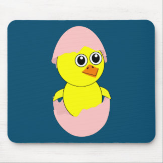 Baby Chick Maternity Girl Pink Mouse Pad