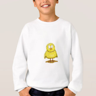 Baby Chick Whimsical Bird Sweatshirt