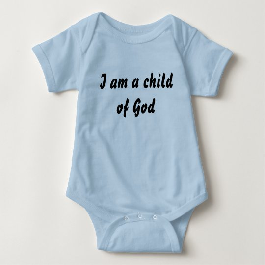 Baby Child of God Baby Bodysuit