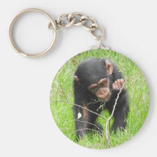 Baby Chimp Key Ring