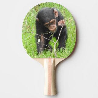 Baby Chimp Ping Pong Paddle
