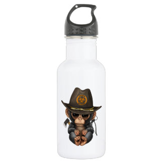 Baby Chimp Zombie Hunter 532 Ml Water Bottle