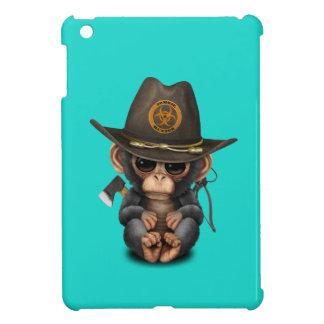 Baby Chimp Zombie Hunter Case For The iPad Mini