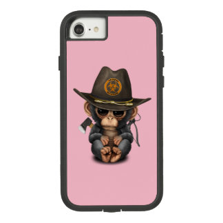 Baby Chimp Zombie Hunter Case-Mate Tough Extreme iPhone 8/7 Case