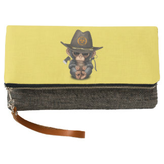 Baby Chimp Zombie Hunter Clutch
