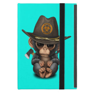 Baby Chimp Zombie Hunter iPad Mini Case