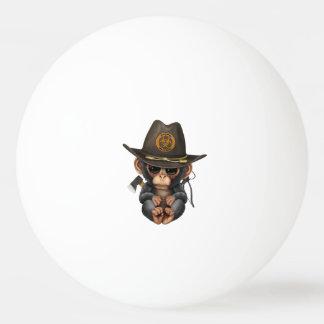 Baby Chimp Zombie Hunter Ping Pong Ball