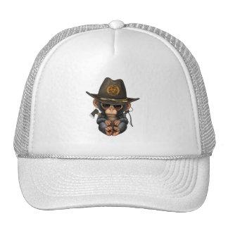 Baby Chimp Zombie Hunter Trucker Hat