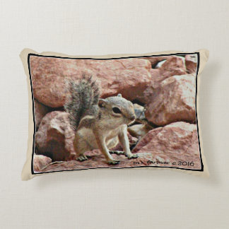 Baby Chipmunk Accent Pillow