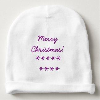 Baby Christmas Beanie Baby Beanie