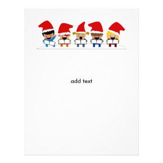 Baby Christmas Carolers Flyer