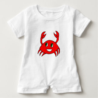 Baby Clothes - Baby Rompers - Happy Crab