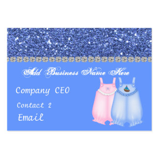 Baby Clothes Glam Business Card