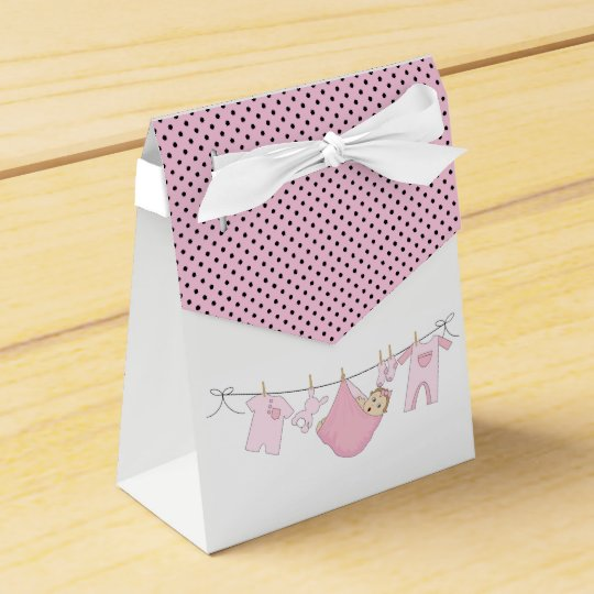 Baby Clothes Line Party Favor Boxes