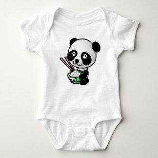 Baby clothes. Panda. Baby Bodysuit