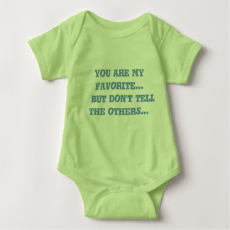Baby clothes that say's it all... baby bodysuit