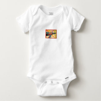 BABY CLOTHES:WITH VINTAGE FRENCH ILLUSTRATIONS. BABY ONESIE