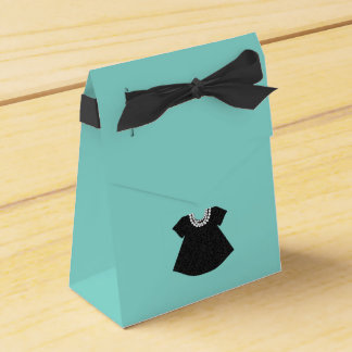 BABY & CO. Blue Tiffany Baby Shower Favour Boxes Wedding Favor Boxes