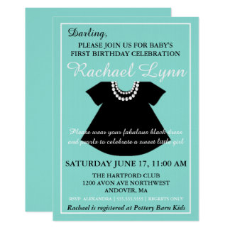 BABY & CO Girl Baby Shower Invitation