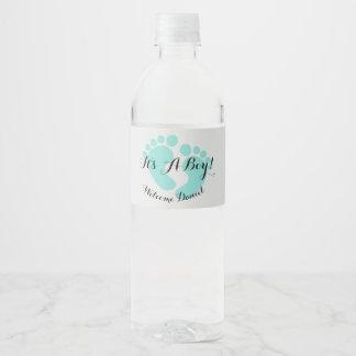 BABY & CO It's A Boy Water Bottle Labels