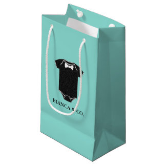 BABY & CO Little Man Baby Shower Party Gift Bag