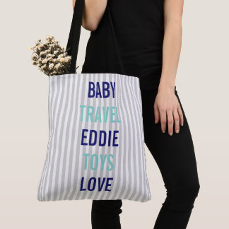 BABY & CO Personalize Baby Toys Shower Tote Bag