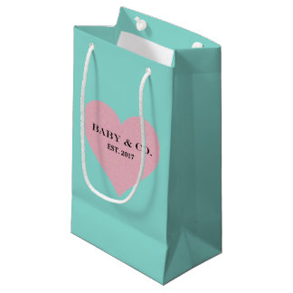 BABY & CO Pink And Blue Baby Reveal Party Gift Bag