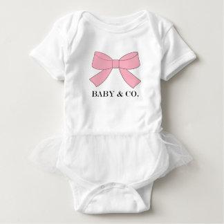 BABY & CO Pink Baby Tutu Bodysuit