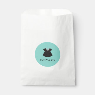 BABY & CO. Tiffany Dress Baby Shower Favor Bags