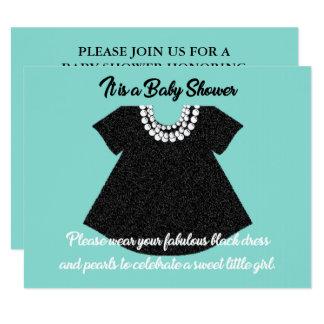 BABY & CO. Tiffany Dress Baby Shower Invitation