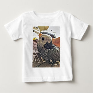 Baby Congo African Grey Parrot Baby T-Shirt