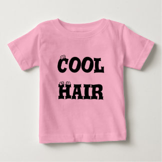 Baby Cool Hair- Pink Baby T-Shirt