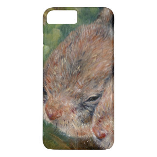 Baby cotton tail bunny iPhone 7 plus case