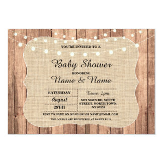 Baby Couple's Shower I DO BBQ Chalkboard Invite