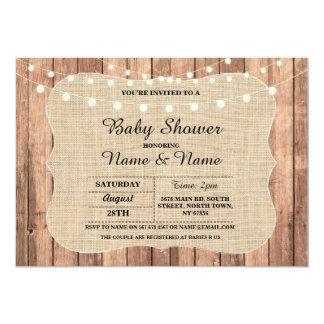 Baby Couple's Shower I DO BBQ Chalkboard Invite