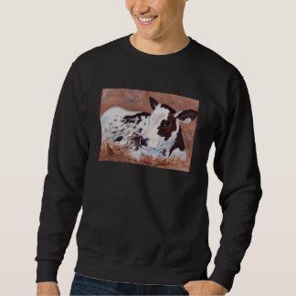 Baby Cow Adult Sweatshirt
