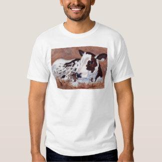 Baby Cow Adult Tshirt