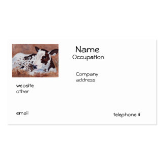 Baby Cow Business Cards