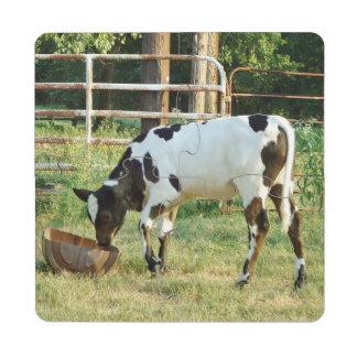 Baby Cow Drink Coaster Puzzle