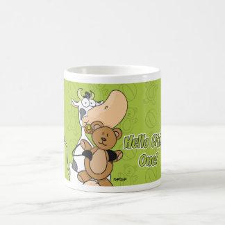 "Baby Cow ""Hello Little One!"" Basic White Mug"