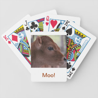 Baby Cow Moo Playing Cards