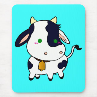 Baby Cow Mouse Pad