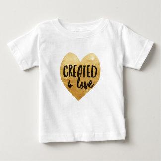 Baby 'Created 4 Love' Baby T-Shirt