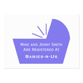 Baby Crib Icon Pack Of Chubby Business Cards